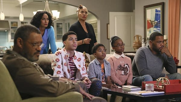 "A scene from Blackish episode ""Hope"", courtesy of ABC."