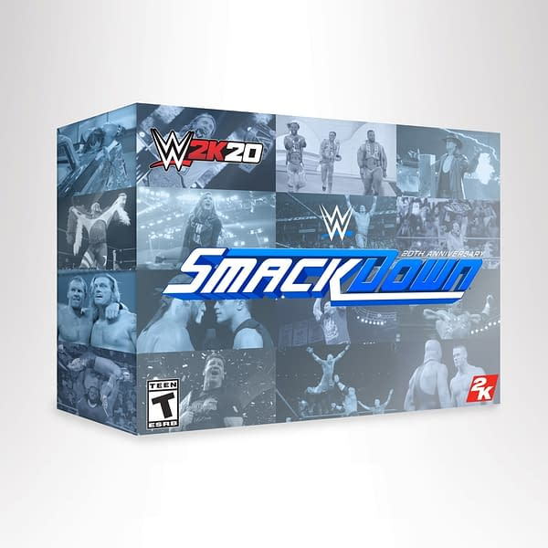 """2K Sports Reveals """"WWE 2K20"""" Cover Art And Trailers"""