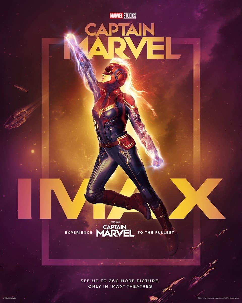 3 New Posters and TV Spot for Captain Marvel, Tickets Now on Sale