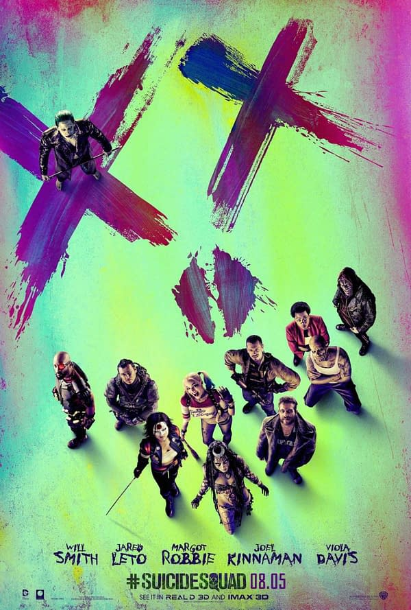 One of the official posters for Suicide Squad