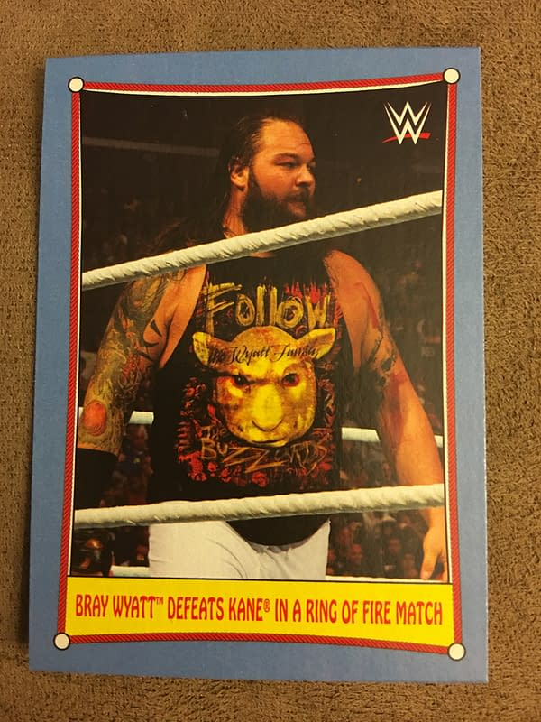 Topps 2017 WWE Heritage Cards 12