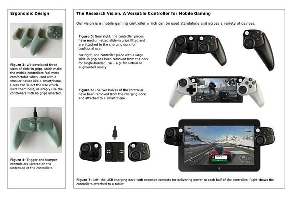 Microsoft is Working On Prototype Controllers for Tablet and Smartphones