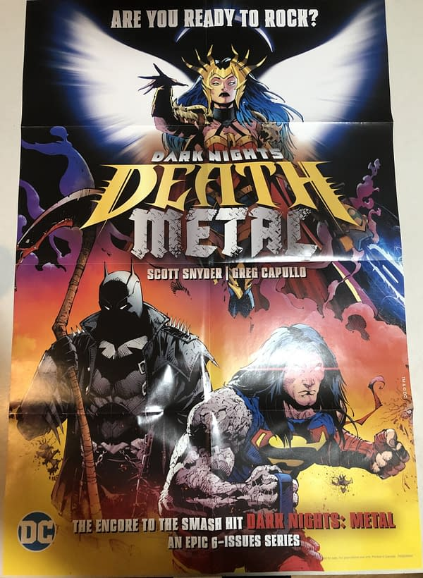 Death Metal #1 Main Cover Promotional Poster