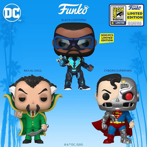 San Diego Comic Con 2020 wave continues as Funko announced there DC Comics exclusives with a 3,000LE Pop!