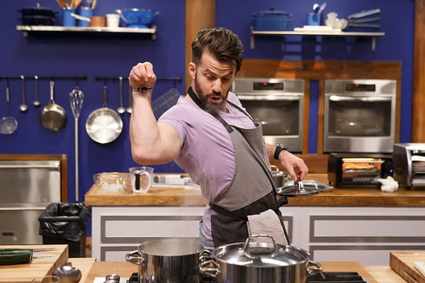 The spice of Life is added on Worst Cooks in America season 19, courtesy of Food Network.