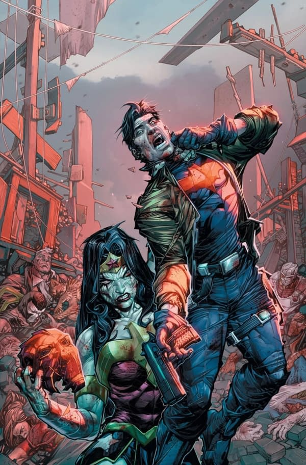 DCeased Spinoff Set for February by Tom Taylor, Karl Mostert, and Trevor Scott