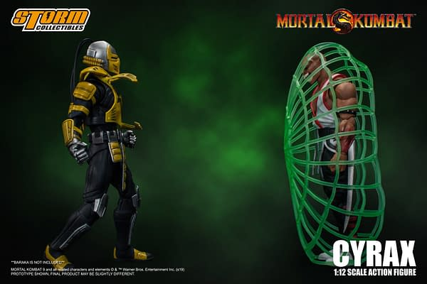 Mortal Kombat Warrior Cyrax Figure Coming From Storm Collectibles