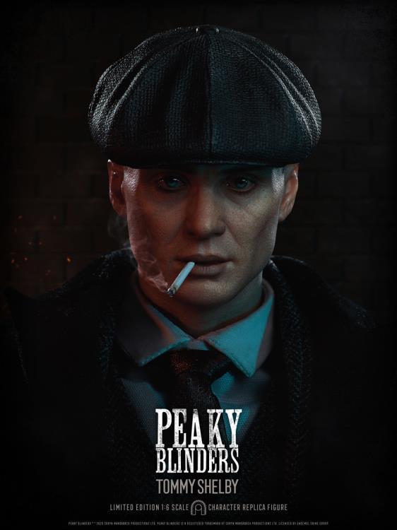Peaky Blinders anti-héros Tommy Shelby 1: 6ème figurine d'échelle provenant de Big Chief Studios.