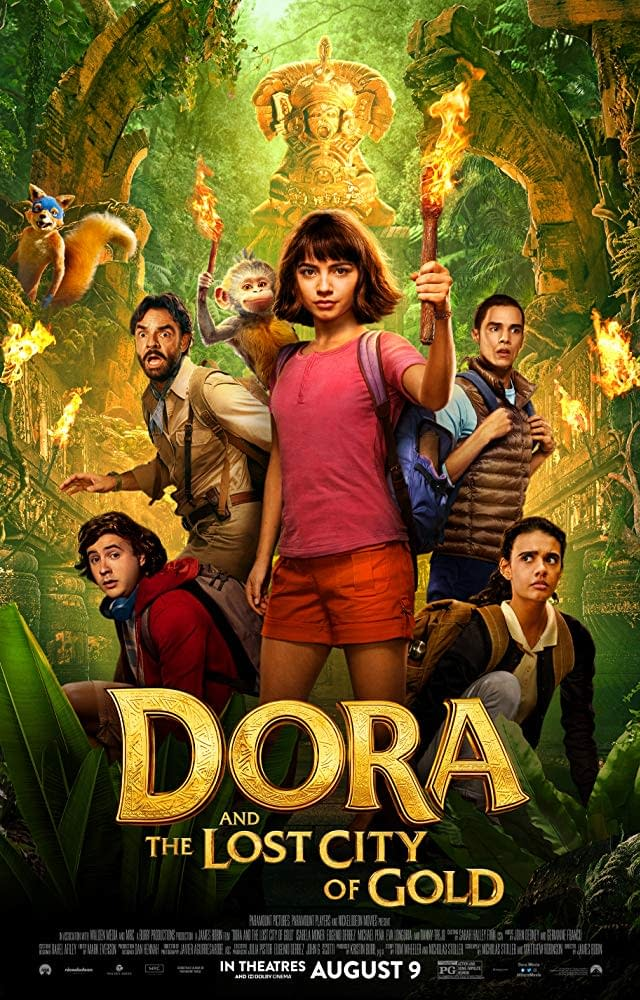 """New Trailer and Poster for """"Dora and the Lost City of Gold"""""""