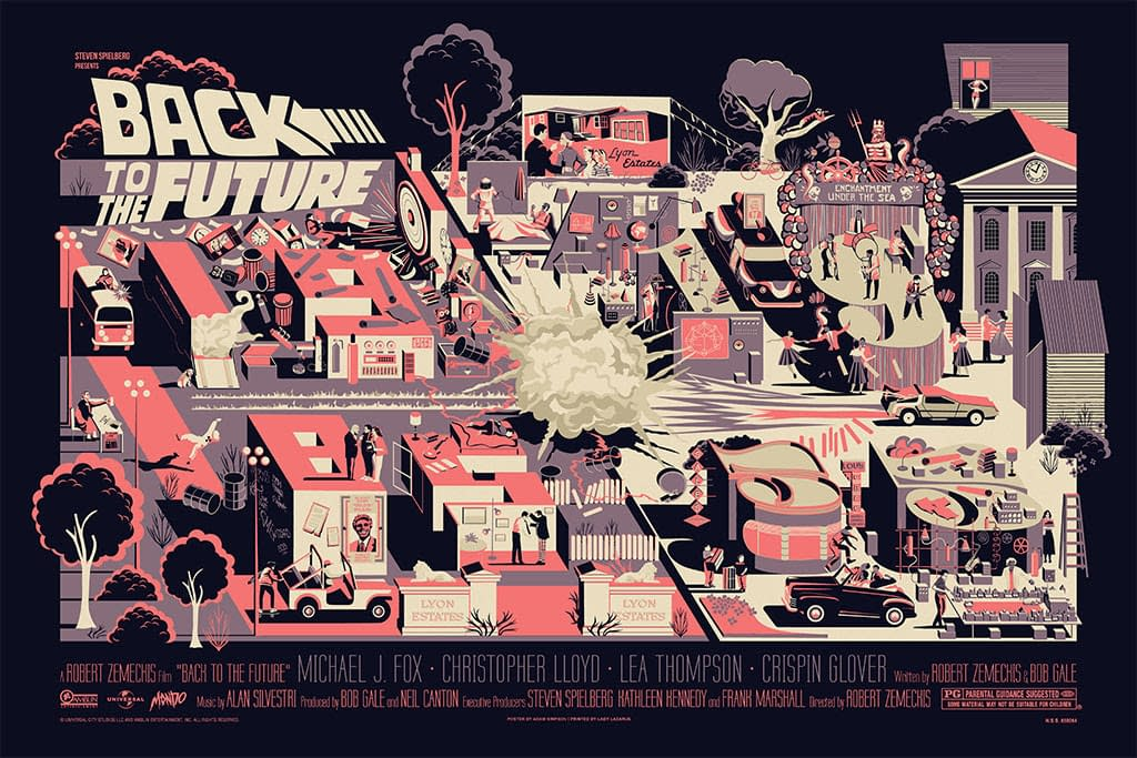 Mondo Goes Back To The Future This Week With Posters, Vinyl, Pins