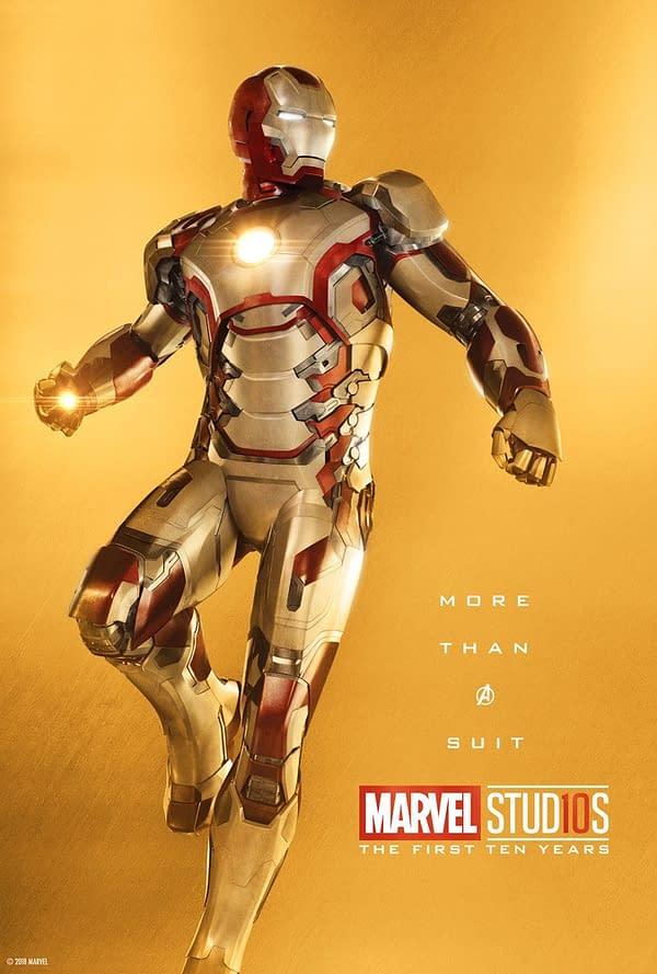 Marvel Studios More Than A Hero Poster Series Iron Man