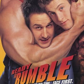 The movie poster for Ready to Rumble.