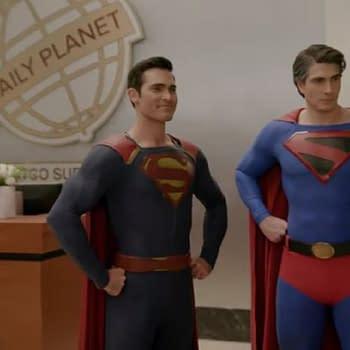 Crisis Management: Routh Hoechlin Talk Hot Superman-on-Superman Action Lucifer Selfie New Keyart