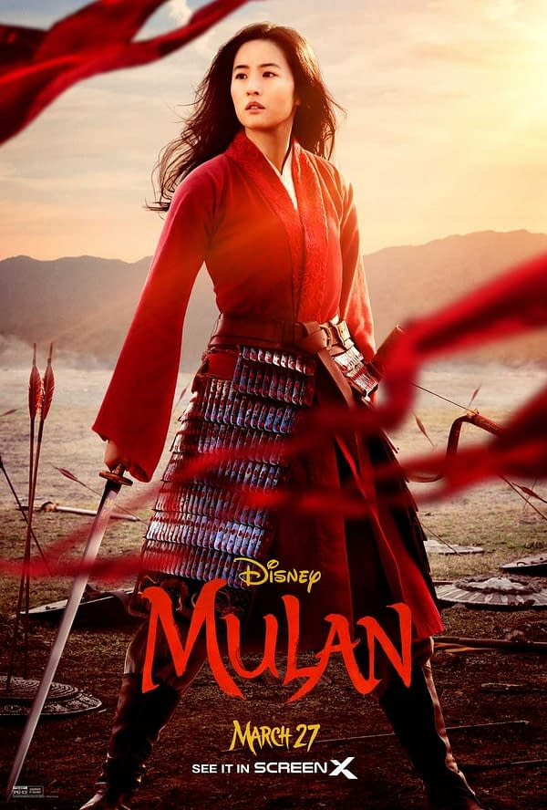 "Another New ""Mulan"" Poster, Early Box Office Predictions Look Solid"