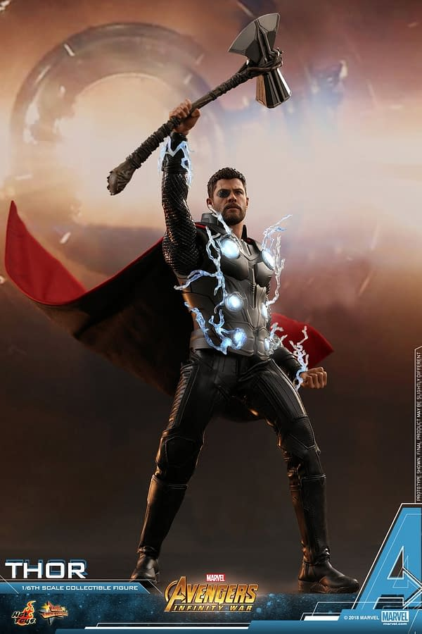 Thor is the Second Revealed Avengers: Infinity War Hot Toys Figure