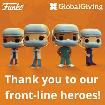 Funko Embraces Real Life Heroes with Front Line Worker Pops