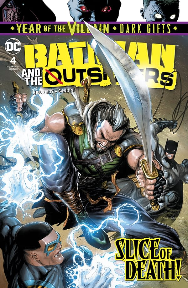 Batman and the Outsiders #4 [Preview]