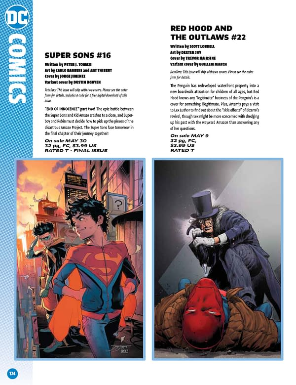 DC Comics Cancels Super Sons With #16 – And Where Is Supergirl?