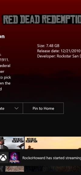 Red Dead Redemption Is Currently Backwards Compatible On Xbox One&#8230Kinda