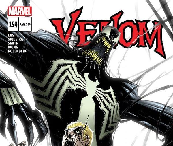 Cover to Venom #154 by Gerardo Sandoval