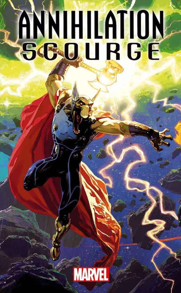 Dan Abnett Returns to Marvel Cosmic for Annihilation Scourge in December Solicits