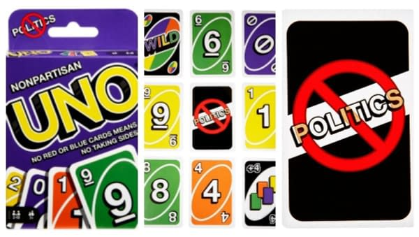 "Mattel Releases A ""Nonpartisan Uno"" To Avoid Politics"