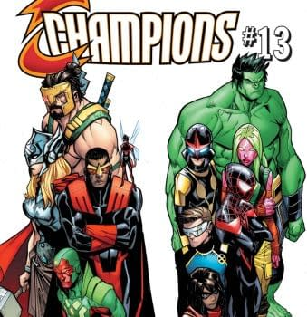 Champions #13 Review: Broken Buildings And Bad Dads