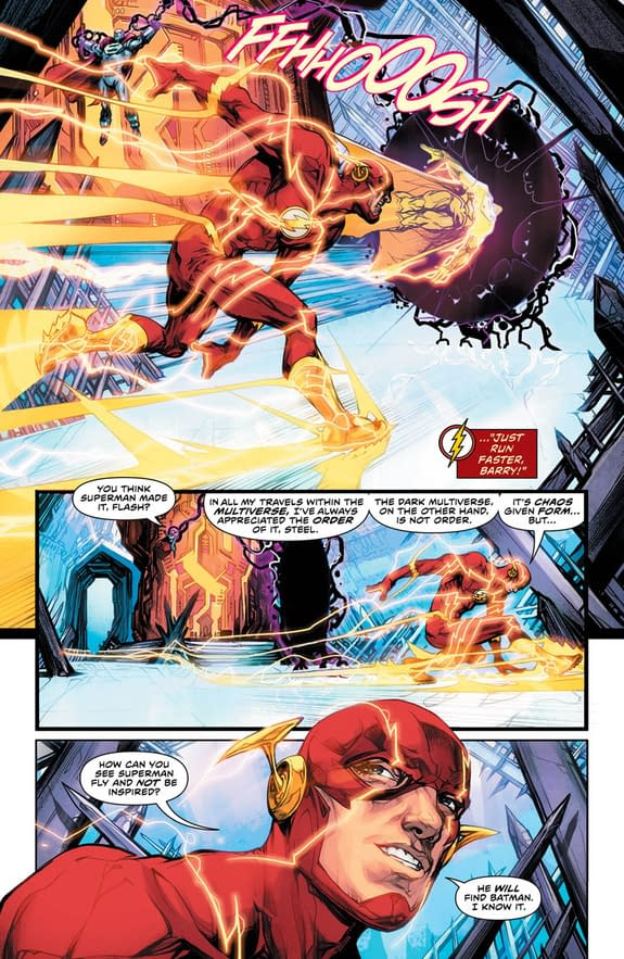 The Flash #33 art by Howard Porter and Hi-Fi