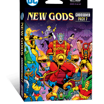 DC deck-building game New Gods Crossover