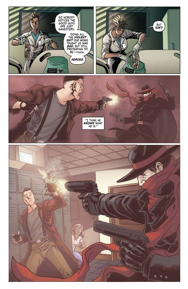 Writer's Commentary – Si Spurrier Talks The Shadow #1