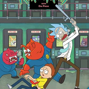 Oni Press to Unveil Rick and Morty #50 Variants at Brooklyn Art Gallery