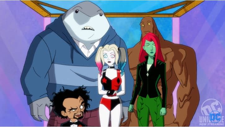 """""""Harley Quinn"""" Season 1 """"Being Harley Quinn"""": Dr. Psycho Gets to Heart of Harley's Problems – Actually, Make That """"Mind"""" [PREVIEW]"""