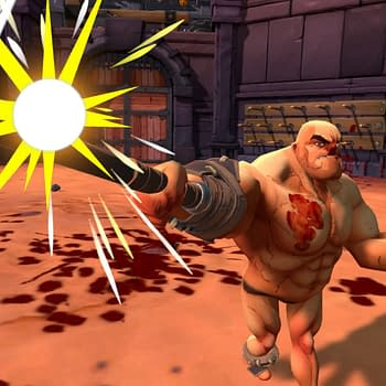 The ludicrously violent GORN is headed to PlayStation VR.