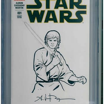 Rick & Morty/Star Wars/Walking Dead Sketch CGC Collection Stolen From Los Angeles Storage Locker