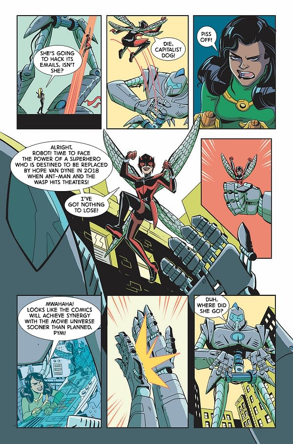 Improbable Previews: Get Stung By The Unstoppable Wasp #1