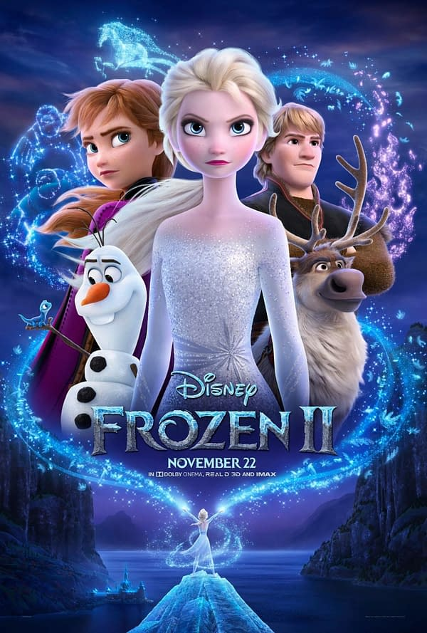 Frozen 2 Poster. Credit Disney