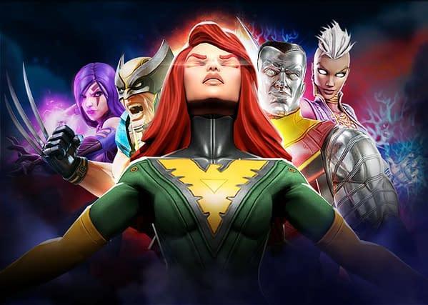 Marvel Strike Force Adds Three New X-Men: Psylocke, Colossus, and Dark Phoenix