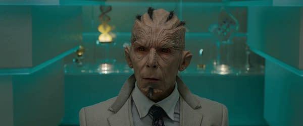 //Christopher Fairbank as The Broker //c. Marvel Studios