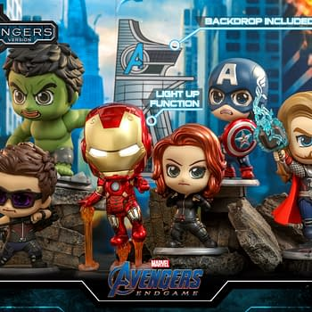 The Avengers Assemble With New Cosbaby's from Hot Toys