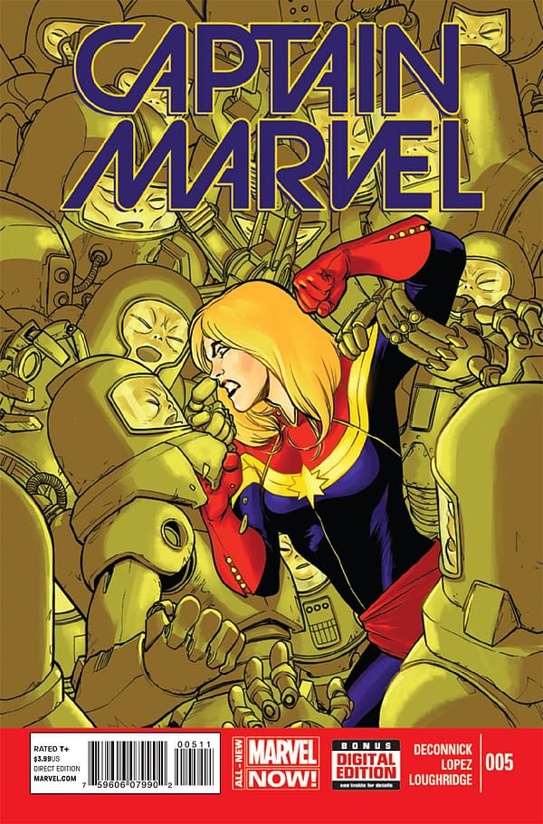 Captain Marvel Cover