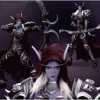World of Warcraft Sylvanas Windrunner Figure from Beast Kingdom