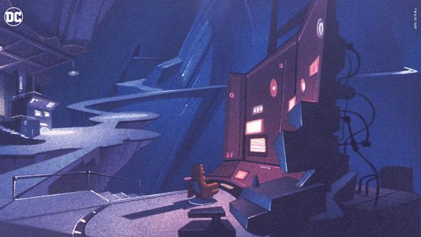 Batman: The Animates Series Zoom Background de DC Comics