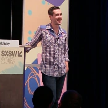 Ryan Holiday talks at SXSW
