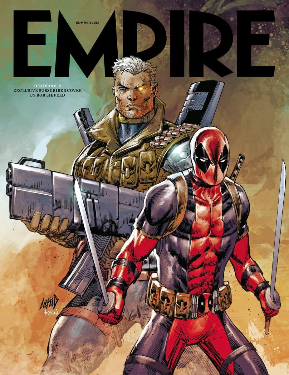 Empire Has Revealed Its Deadpool 2 Subscriber Cover