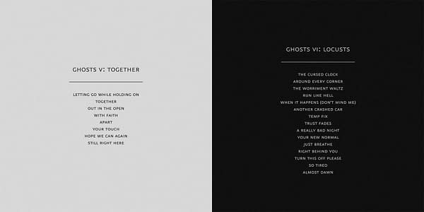 Nine Inch Nails Ghosts V and VI