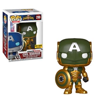 Hydra Cap Funko Hot Topic Exclusive Variant