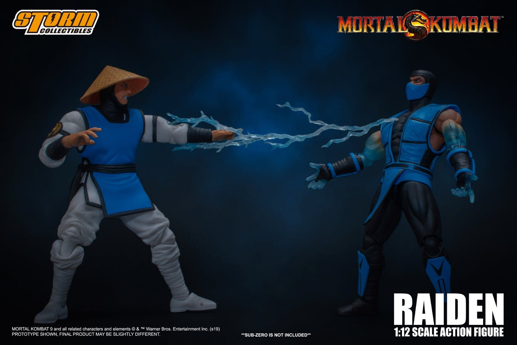 """Mortal Kombat"" Gets a New Challenger with Storm Collectibles"