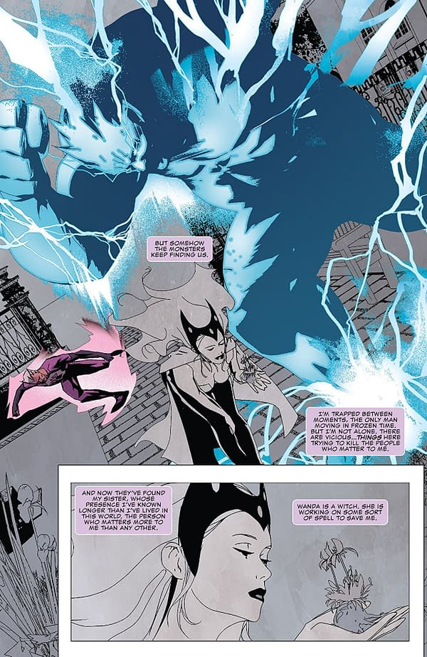 Quicksilver: No Surrender #3 art by Eric Nguyen and Rico Renzi