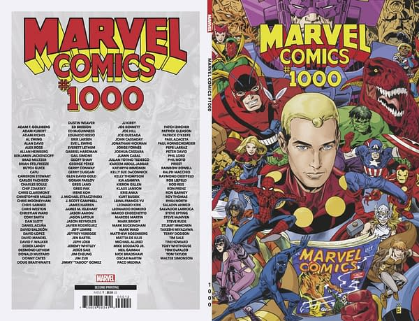 Marvel Comics #1000 Second Printing Will Have a Miracleman Cover