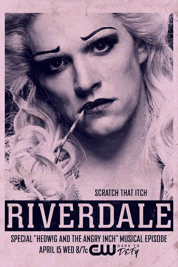 Kevin takes center stage on the poster for the next episode of Riverdale, courtesy of The CW.